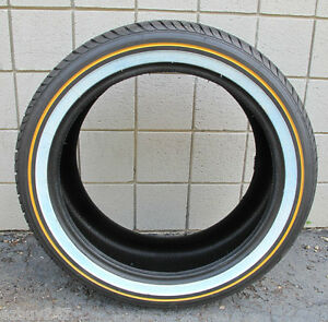 New 285 45 22 114h Vogue Tyre Custom Built Xiii Gold White Tire 28545r22 2854522
