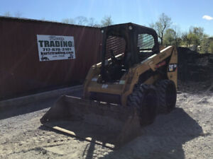 2015 Caterpillar 236d Skid Steer Loader Joystick Super Clean Only 2500 Hours