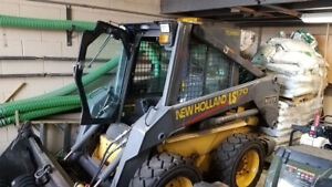 2004 New Holland Ls170 Skid Steer Loader W Cab Clean One Owner Only 2600 Hrs
