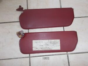 73 87 Chevy Gmc Truck Sun Visor Oem Maroon burgundy Color