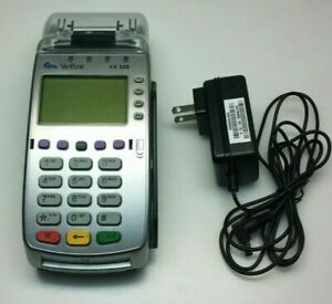 Verifone Vx 520 Credit Card Payment Terminal Used Includes Power Supply