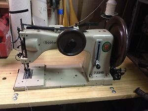 Scotsew 7 33 Hb Super Heavy Duty Walking Foot Sewing Machine With Reverse
