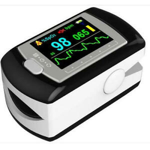 Contec Multi color Oled Rechargeable Finger Pulse Oximeter Cd rom Free Case