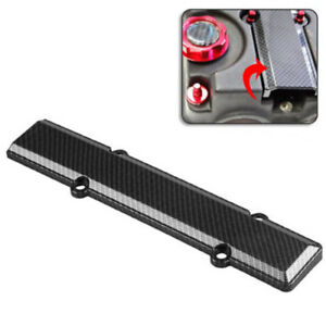 Durable Carbon Fiber Look Valve Cover Spark Plug Insert For Honda B Series Vtec