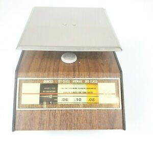 Vintage 1960 s Park Sherman Mail Postal Scale usps Collectible Made In Usa