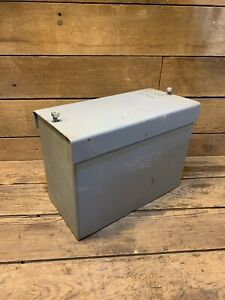 Oliver 90 99 Tractor Battery Box Part Lid New Super Sheet Metal Gas Diesel Green