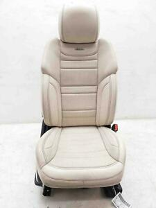 2013 2016 Mercedes Gl63 Amg Right Front Seat Heated Cooled Beige Leather Oem