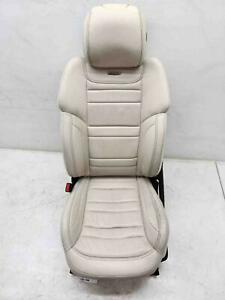 2013 2016 Mercedes Gl63 Amg Left Front Seat Heated Cooled Beige Leather W Screen