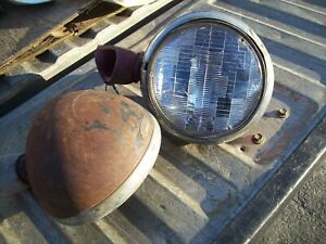 Guide Headlight With Stands Chevy T A V8 Trog 1932 Ford 33 34 T B Jalopy Rat Rod