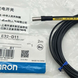 Original Omron Reflective Optical Fiber Sensor E32 d11n 2months Warranty