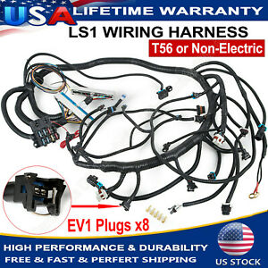 Standalone Wiring Harness T56 Or Non electric Tran 4 8 5 3 6 0 1997 2006 Dbc Ls1