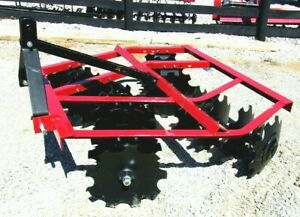 New Atlas Wf1616 5 Ft 3 Pt Lift Disc Harrow free 1000 Mile Delivery From Ky