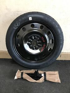 2012 Ford Flex Spare Tire Wheel 155 70r17 With Jack And Tools Oem