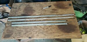 1969 Dodge Charger Door Trim Separator Stainless Set Four Coronet 68 70 Panel 69