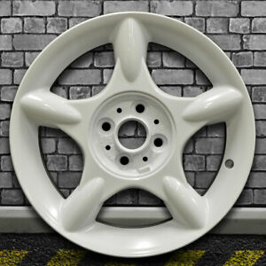 5 Spoke Bright White Full Face Oem Wheel For 2002 2009 Mini Cooper 16x6 5