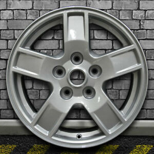Sparkle Silver Full Face Oem Wheel For 2005 2007 Jeep Grand Cherokee 17x7 5