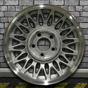 Flange Cut Sparkle Silver Oem Wheel For 1993 1997 Lincoln Town Car 15x6 5