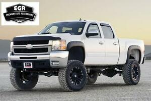Egr Matte Black Fender Flare Bolt On Style 2007 2013 Chevrolet Silverado 791405