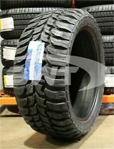 4 New 33x12 50r22 Roadone Cavalry M T 114q Lrf 12 50r R22 Mud Tire