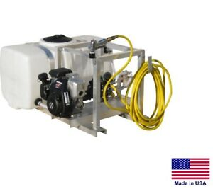 Sprayer Commercial Skid Mounted 6 Gpm 290 Psi 50 Gallon Tank