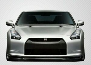 Fit Nissan Gt r R35 09 11 Carbon Creations Carbon Fiber Eros Version 5 Front Lip