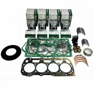 Ford 1920 Tractor Shibaura N844 4 Cyl Diesel Engine Overhaul Rebuild Kit