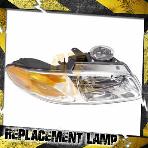 For 2000 Chrysler Voyager Right Passenger Side Head Lamp Headlight