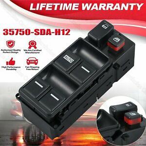 Fits Honda Accord 2003 2007 Electric Master Power Window Switch Left Driver Side
