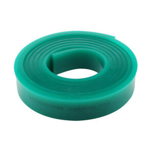 71 Roll 70 Durometer Silk Screen Printing Squeegee Green Blade Replace Tool