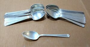 Rogers Bros 1847 Anniversary Pattern Silver Plated Tea Spoons