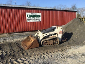 2012 Bobcat Mt55 Stand On Tracked Skid Steer Loader Kubota Engine Only 800hrs