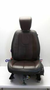 13 2013 Gmc Terrain Driver Left Front Bucket Seat Brown Black Leather