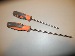 Snap On Long No2 Phillips And Phillips 1 Screwdriver In Orange