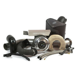 Industrial Injection Stock Compound Add a turbo Kit For 03 07 Dodge Cummins 5 9l