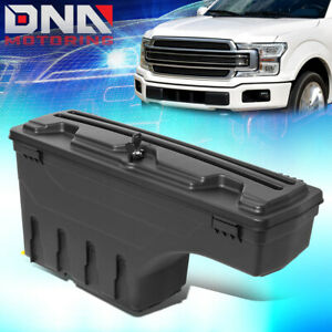For 2015 2020 Ford F 150 Pickup Bed Driver Side Wheel Well Storage Case Tool Box