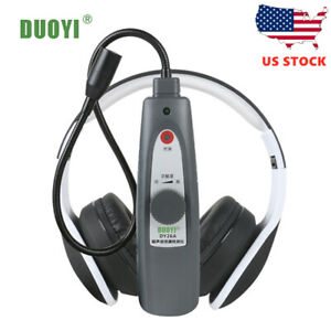 Ultrasonic Leak Detector With Transmitter Air Water Leak Pressure Vacuum E8s6