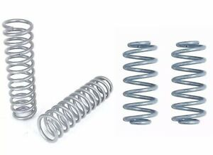 Rubicon Express Front And Rear Coil Springs 4 5 For 97 06 Jeep Wrangler Tj Lj