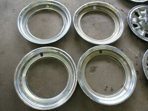 Ford F250 f350 16 Adapter Trim Rings For 15 Hubcaps Set Of 4 Oem
