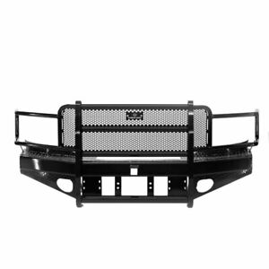 Ranch Hand Sport Front Bumper 15k Winch Ready For Dodge 1500 2500 3500 06 2009