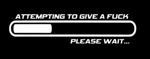 Attempting To Give A F C Please Wait Sticker Funny Jdm Low Car Window Decal