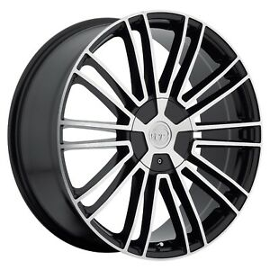 Vct Morello 18 Inch Black Wheels Rims Tires Fit Toyota Mazda Chrysler Honda
