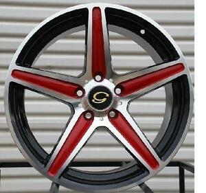 18 Inch Gline 253 Wheels Rims Tires Fit Toyota Ford Chevy Honda