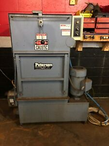 Parts Washer Hot Tank Parts Spray Washer By Peterson Machine Tool Inc