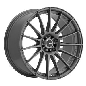 4 New 19x8 5 Konig Rennform Grey Wheel Rim 5x114 3 5 114 3 19 8 5 Rf8951435g