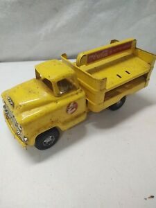 Buddy l coca cola truck Vintage Steel Toy Rare coke delivery