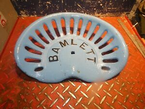 Bamlett Vintage Cast Iron Tractor Implement Seat
