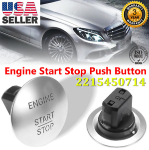 Oem Mercedes Benz Push To Start Button Keyless Go Engine Start Stop Push Button