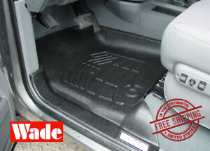 Front Sure fit Floor Mats 2003 2008 Dodge Ram 1500 2500 3500 4wd