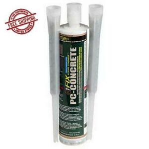 Two part Epoxy Adhesive Paste For Anchoring And Crack Repair 8 6 Oz Cartridge