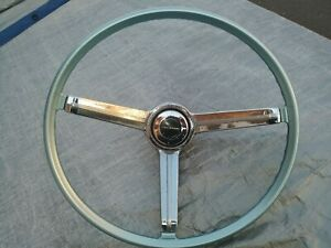1960 S Chevy Corvair Monza Rally Steering Wheel 1965 1966 1967 1968